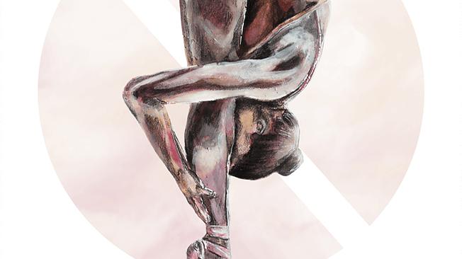 aquarelle ballerina
